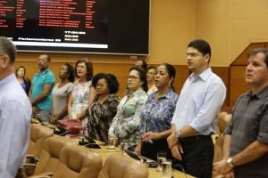 Representantes de associações de moradores participaram do evento