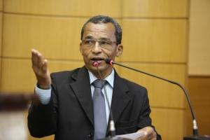 José Firmo durante o discurso