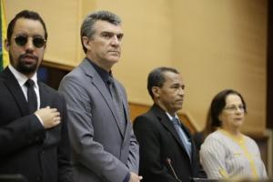 Vereador Lucas Aribé representou a Câmara