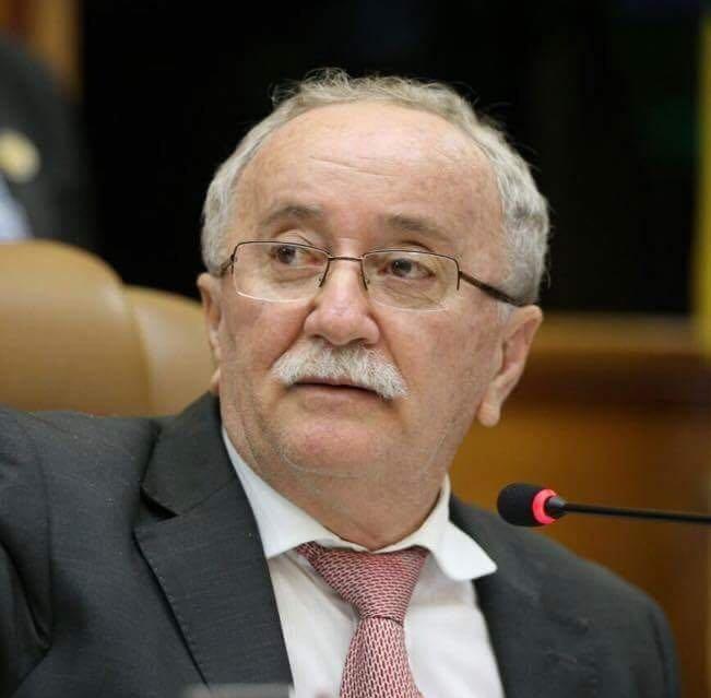 Foto de perfil do atual presidente da Alese, Luciano Bispo