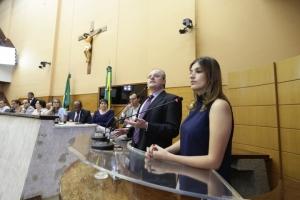 Daniel Cerqueira e Samira Bueno apresentaram a pesquisa