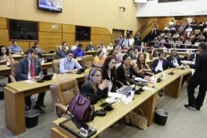 Representantes de várias entidades participaram da audiência